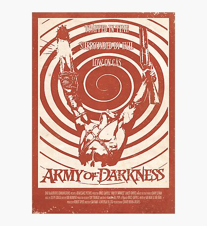 Army of Darkness (1992) Custom Poster Photographic Print