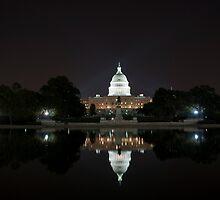 US Capital Building by Karen  Burgess