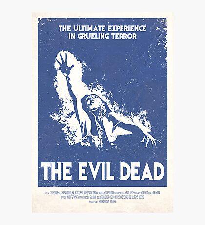 The Evil Dead (1981) Custom Poster Photographic Print