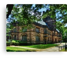 One of many beautiful buildings in Princeton. Canvas Print