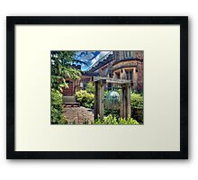The Bell III Framed Print