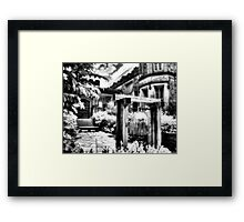 The Bell IV Framed Print