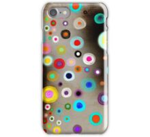 Poppies colorful Snow Landscape iPhone Case/Skin