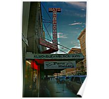 The Hat Store Poster