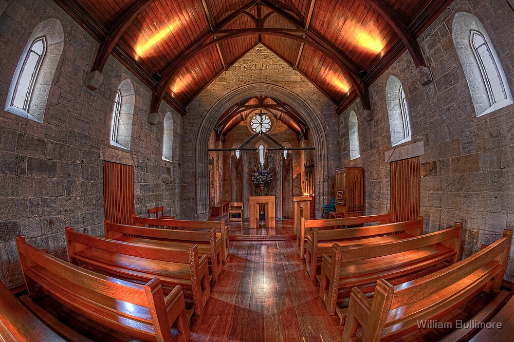 Saint Stephen's Chapel • Brisbane • Australia by William Bullimore