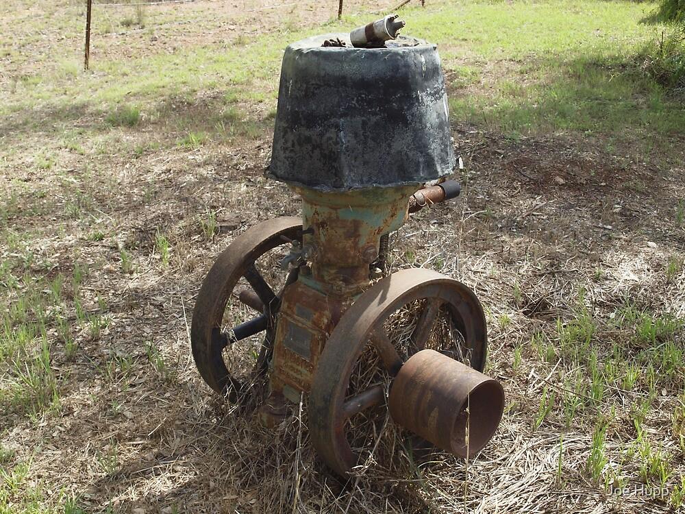 Old R.A. Lister Stationary Engine by Joe Hupp