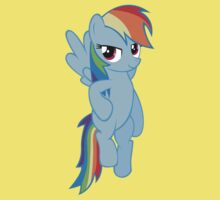 Rainbow Dash - Flying Kids Clothes