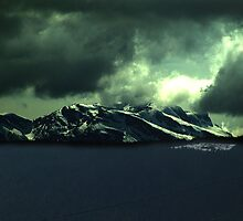 Storm Over Mountains by Jann Ashworth