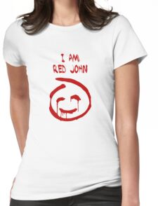 The Mentalist - I Am Red John Womens Fitted T-Shirt