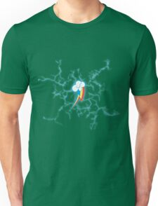 Rainbow Dash - High Voltage Cutie Mark Unisex T-Shirt