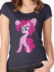 """Pinkie Pie - """"Watch Out!"""" Women's Fitted Scoop T-Shirt"""