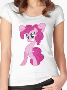 "Pinkie Pie - ""Watch Out!"" Women's Fitted Scoop T-Shirt"