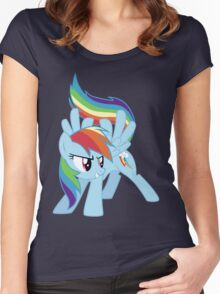 Rainbow Dash Women's Fitted Scoop T-Shirt