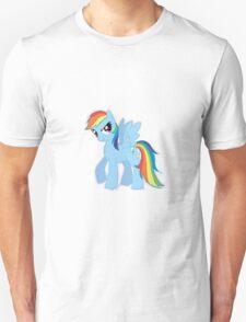 Rainbow Dash (Drawn) Unisex T-Shirt