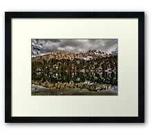 Matlock Lake Framed Print