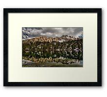 Matlock Lake Framed Print