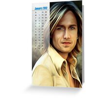 Your Photo Calender Greeting Card
