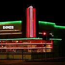 Diner Lights by Jerry L. Barrett