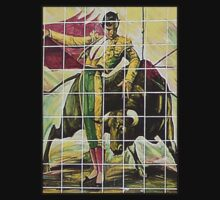 Bullfighter Scene on Tile, Country Club Plaza, KC, Mo. by THarmonArt
