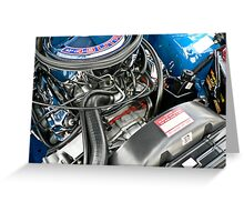 VK Group A Engine Bay Greeting Card