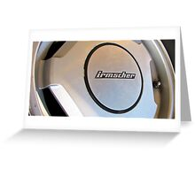 Irmscher Wheel Greeting Card