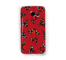 Scarlet Tigers - Red Samsung Galaxy Case/Skin