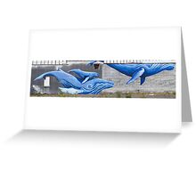 The Whales Greeting Card