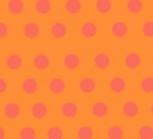 orange polka dots case by rupydetequila