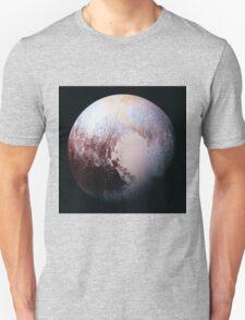 NASA Pluto Color Enhanced Modification 1 Unisex T-Shirt