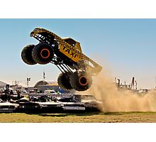 Monster Truck Liftoff Photographic Print