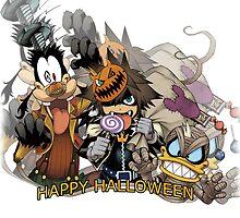 Kingdom Hearts - Happy Halloween! by realzanime