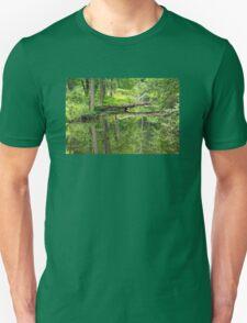 Ridge Valley Creek - Green Lane - Pennsylvania - USA Unisex T-Shirt