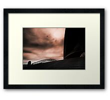 Sydney Icons Framed Print