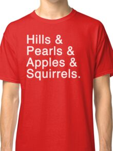 Mary Baldwin College List Classic T-Shirt