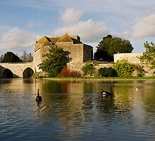 Leeds Castle Gatehouse by mikebov