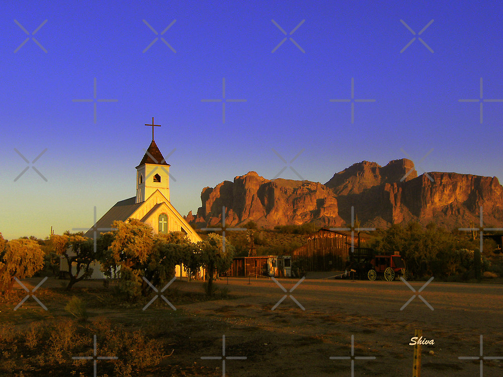 Superstition Mountain by Shiva77