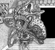 Octopus Changing a Light-bulb by Cantus