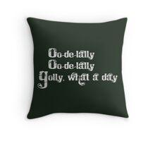 Oo-de-lally Throw Pillow