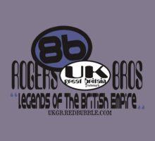 uk great britain by rogers bros Kids Tee