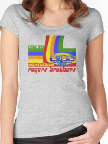 uk great britain by rogers bros Women's Fitted Scoop T-Shirt
