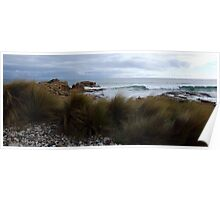 Nettle Bay waves - Tasmania Poster