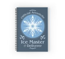 Ice Harvester Spiral Notebook