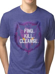DJD - Find. Kill. Cleanse. Tri-blend T-Shirt