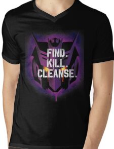 DJD - Find. Kill. Cleanse. Mens V-Neck T-Shirt