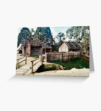 Sovereign Hill Greeting Card