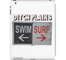 Ditch Plains iPad Case/Skin
