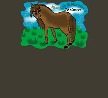 Mountain & Moorland: Dartmoor Pony Womens Fitted T-Shirt