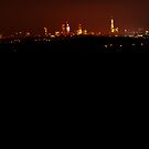 London Skyline from 25 Miles by Guy Carpenter