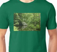 Ridge Valley Creek - Green Lane - Pennsylvania - USA Unisex T-Shirt