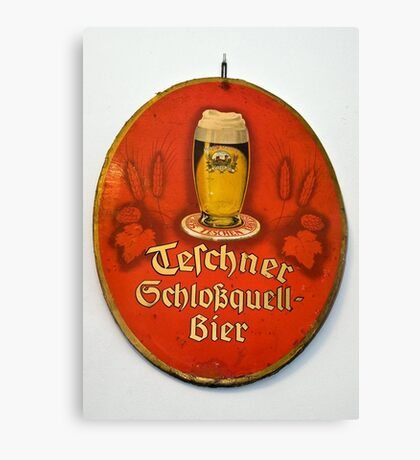The good old beer... Canvas Print